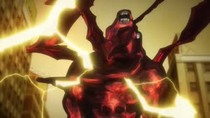 Rating: Safe Score: 22 Tags: animated effects fighting ice kekkai_sensen kekkai_sensen_&_beyond lightning presumed takashi_mitani User: Ashita
