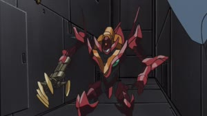Rating: Safe Score: 26 Tags: animated code_geass code_geass_r2 effects eiji_nakada fighting mecha sparks User: paeses