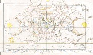 Rating: Safe Score: 3 Tags: artist_unknown kuchuu_gunkan_atlantis layout mecha production_materials User: FAR