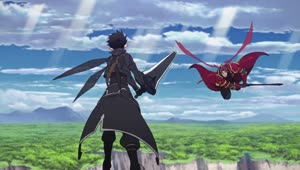 Rating: Safe Score: 77 Tags: animated artist_unknown effects fighting presumed smears smoke sparks sword_art_online sword_art_online_series takahiro_shikama User: Bloodystar