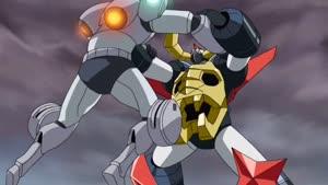 Rating: Safe Score: 83 Tags: akira_amemiya animated beams effects fighting gaiking:_legend_of_daiku-maryu hiroyuki_imaishi impact_frames kenji_kuroyanagi mecha smoke User: Ashita