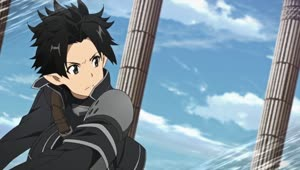 Rating: Safe Score: 21 Tags: animated artist_unknown fighting flying hair rotation smears sword_art_online sword_art_online_series User: Bloodystar