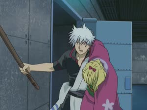 Rating: Safe Score: 6 Tags: animated effects fighting gintama gintama_(2006) presumed sejoon_kim smears sparks User: YGP