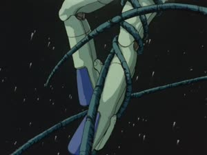 Rating: Safe Score: 11 Tags: animated artist_unknown atsushi_yano bubblegum_crisis effects explosions fighting flying impact_frames presumed User: MMFS