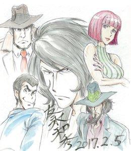 Rating: Safe Score: 6 Tags: illustration kazuhide_tomonaga lupin_iii lupin_iii:_chikemuri_no_ishikawa_goemon web User: Ashita