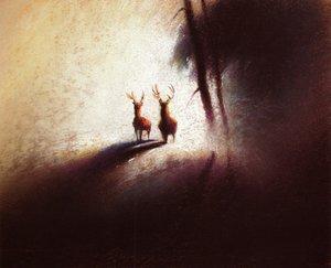 Rating: Safe Score: 0 Tags: bambi concept_art illustration settei tyrus_wong western User: MMFS