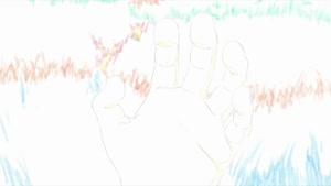 Rating: Safe Score: 28 Tags: animated background_animation character_acting food genga ken'ichi_fujisawa mob_psycho_100 mob_psycho_100_ii production_materials smears User: PurpleGeth