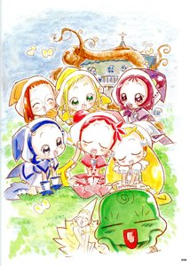 Rating: Safe Score: 3 Tags: illustration ojamajo_doremi yoshihiko_umakoshi User: osama___a