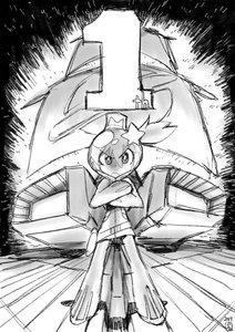 Rating: Safe Score: 13 Tags: hiroyuki_imaishi illustration uchuu_patrol_luluco web User: Knowzen