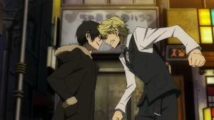 Rating: Safe Score: 17 Tags: animated artist_unknown crowd durarara!! fighting kenichi_ohki presumed smears User: YGP