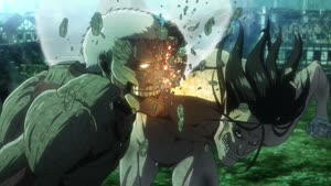Rating: Safe Score: 133 Tags: animated artist_unknown effects fighting fire impact_frames shingeki_no_kyojin shunsuke_aoki sparks yasuyuki_ebara User: belal