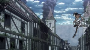 Rating: Safe Score: 60 Tags: 3d_background animated artist_unknown background_animation cgi creatures debris effects falling remake running shingeki_no_kyojin smears smoke User: DAXT3R