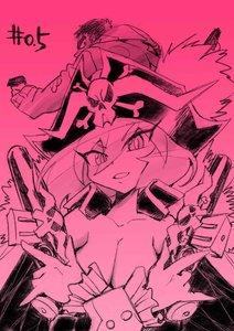 Rating: Safe Score: 11 Tags: hiroyuki_imaishi illustration uchuu_patrol_luluco web User: Xmax360