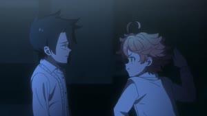 Rating: Safe Score: 72 Tags: animated character_acting effects presumed ryosuke_nishii smears the_promised_neverland User: Ashita