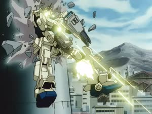 Rating: Safe Score: 6 Tags: animated artist_unknown effects fighting gundam mecha mobile_suit_gundam:_the_08th_ms_team smoke User: Jarmel
