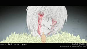 Rating: Safe Score: 45 Tags: animated genga genga_comparison neon_genesis_evangelion production_materials rebuild_of_evangelion takashi_hashimoto User: MMFS