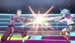 Rating: Safe Score: 3 Tags: animated artist_unknown effects fighting gakusen_toshi_asterisk sparks User: finalwarf