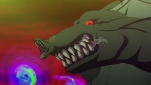 Rating: Safe Score: 9 Tags: animated creatures effects fire impact_frames liquid presumed remake smears smoke tate_no_yuusha_no_nariagari wind yuka_kuroda User: Bloodystar