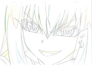 Rating: Safe Score: 0 Tags: artist_unknown genga production_materials sousei_no_onmyouji User: YGP
