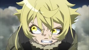 Rating: Safe Score: 0 Tags: animated artist_unknown effects explosions fighting flying youjo_senki User: Ashita