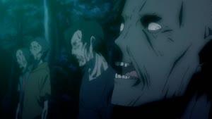 Rating: Safe Score: 6 Tags: animated artist_unknown character_acting creatures ga-rei:_zero shin_wakabayashi User: PurpleGeth
