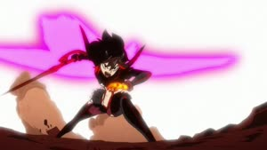 Rating: Safe Score: 70 Tags: animated artist_unknown black_and_white effects fighting kill_la_kill smoke sparks sushio User: KamKKF