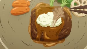 Rating: Safe Score: 0 Tags: animated artist_unknown character_acting food rokuhoudou_yotsuiro_biyori User: WilliamK
