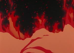 Rating: Safe Score: 91 Tags: animated effects fire mahiro_maeda otaku_no_video smears takeshi_honda User: Chytharo