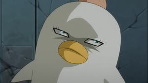 Rating: Safe Score: 3 Tags: animated creatures effects fighting gintama gintama.:_shirogane_no_tamashii-hen miki_komuro smears User: YGP