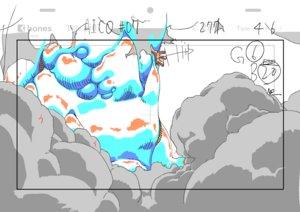 Rating: Safe Score: 17 Tags: a.i.c.o._incarnation animated genga kazuto_arai production_materials User: Agresiel