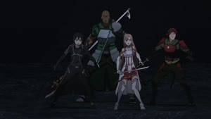 Rating: Safe Score: 21 Tags: animated cgi effects fabric hair keiichi_ishida running smears sparks sword_art_online sword_art_online_series User: Bloodystar
