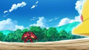 Rating: Safe Score: 40 Tags: animated character_acting creatures effects fighting impact_frames lightning masaaki_iwane pokemon pokemon_sun_&_moon smoke User: Ashita