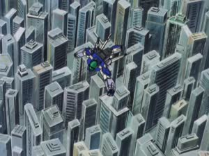 Rating: Safe Score: 52 Tags: animated aoki_ryusei_spt_layzner beams debris effects explosions hiroyuki_okiura impact_frames mecha smoke User: Agresiel