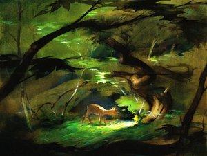 Rating: Safe Score: 3 Tags: bambi concept_art illustration settei tyrus_wong western User: MMFS