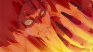 Rating: Safe Score: 63 Tags: animated character_acting effects fire garo_hono_no_kokuin garo_series sunghoo_park User: paeses