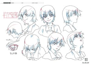 Rating: Safe Score: 19 Tags: akio_watanabe bakemonogatari character_design monogatari_series production_materials settei User: reftleg