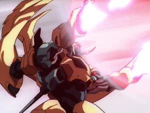 Rating: Safe Score: 28 Tags: animated dangaioh effects explosions impact_frames masami_obari mecha smoke sparks User: Agresiel