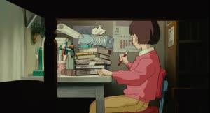 Rating: Safe Score: 3 Tags: animated atsuko_tanaka character_acting walk_cycle whisper_of_the_heart User: dragonhunteriv
