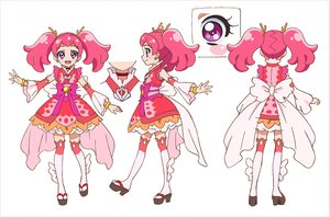 Rating: Safe Score: 11 Tags: character_design precure precure_dream_stars! settei yukiko_nakatani User: darkspike90
