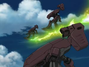 Rating: Safe Score: 11 Tags: animated artist_unknown beams effects eureka_seven_(2005) eureka_seven_series explosions fighting mecha missiles smoke User: KamKKF