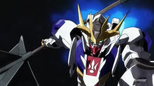 Rating: Safe Score: 12 Tags: animated artist_unknown effects fighting gundam mecha mobile_suit_gundam:_iron-blooded_orphans sparks User: Ashita