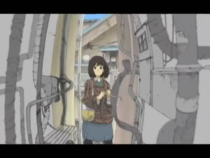 Rating: Safe Score: 37 Tags: animated black_and_white character_acting fabric hair running ryosuke_nishii web User: Ashita