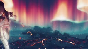 Rating: Safe Score: 199 Tags: animated beams creatures debris effects explosions fighting hair inishie_no_megami_to_houseki_no_ite smoke toshi_sada web User: Marketani