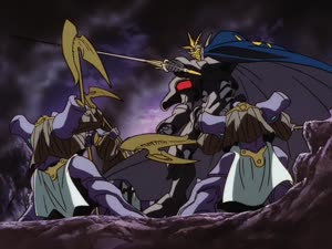 Rating: Safe Score: 4 Tags: animated artist_unknown fighting mecha smears the_vision_of_escaflowne User: PurpleGeth
