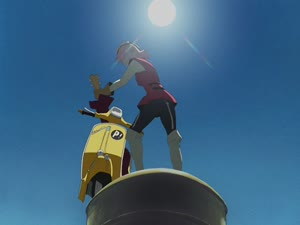 Rating: Safe Score: 400 Tags: animated character_acting effects fighting flcl flcl_series liquid mecha smears sparks yoh_yoshinari User: KamKKF