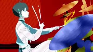 Rating: Safe Score: 65 Tags: animated rolling_girls smears takuma_ebisu tomoko_sudo User: kViN