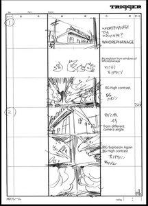 Rating: Safe Score: 9 Tags: black_dynamite hiroyuki_imaishi storyboard User: Xmax360