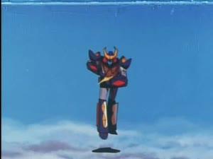 Rating: Safe Score: 13 Tags: animated beams character_acting effects explosions fighting itaru_saito lightning mecha uchuu_senshi_baldios User: grognarg