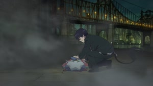 Rating: Safe Score: 5 Tags: animated ao_no_exorcist ao_no_exorcist_the_movie artist_unknown debris effects smoke User: Skrullz