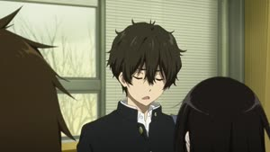 Rating: Safe Score: 13 Tags: animated artist_unknown hair hyouka User: Ashita